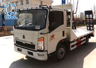 New  Wrecker Tow Truck Sinotruk HOWO QL1070 Light Flatbed Truck 4x2 8 Tons engine 120hp Color option