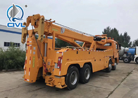 SINOTRUK HOWO7 10 Tires 50T Road Wrecker Tow Truck  Recovery Truck 6x4 Tow Truck EuroII 371hp