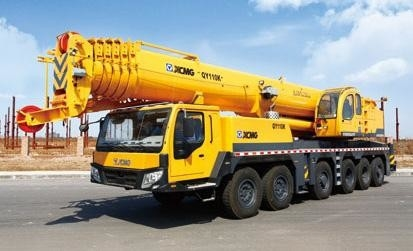 QY50K Truck Crane 50 Tons Truck Mounted Crane With Weichai Engine 2017 New Model