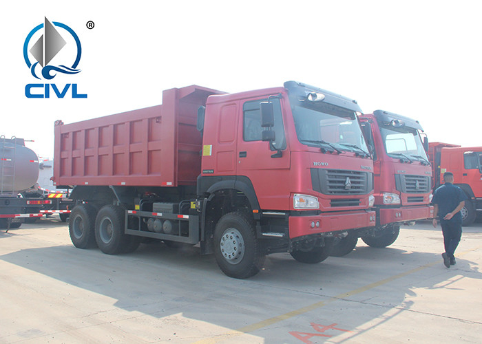 New Heavy Tipper Truck 6x4 30T LHD Commercial Dump Truck SINOTRUK HOWO ZZ3257N34 Middle Lifting