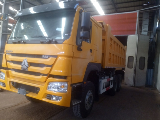 Ventral Lifting Commercial Sinotruk Howo Dump Truck 40 ตันถัง 5400 * 2300 * 1500 มม